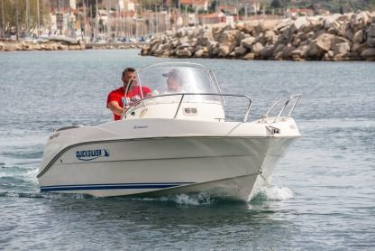Miete Motorboot Quicksilver 525 Commander Marseille