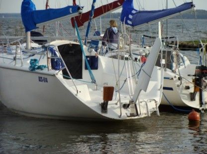Charter Sailboat Twister 800 N Gizycko