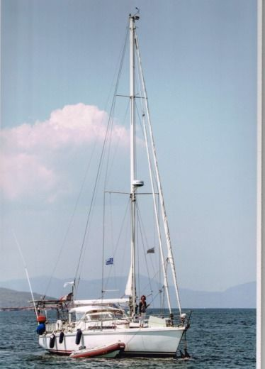 Charter sailboat in Oropioi