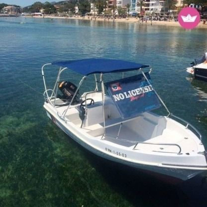 Charter Motorboat Poliester Andarax, S.l. Hobby 4 Mallorca