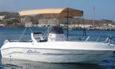 Charter motorboat in Pantelleria