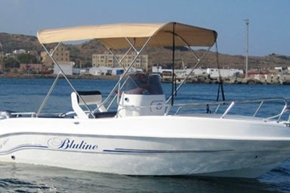 Hire Motorboat Bluline 19 Pantelleria