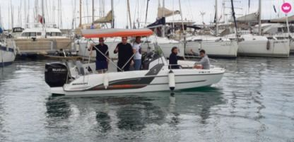 Charter Motorboat Beneteau Flyer 6.6 Space Deck Valencia