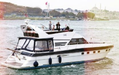 Rental Motorboat Customade Tuzla Fly Bridge Istanbul
