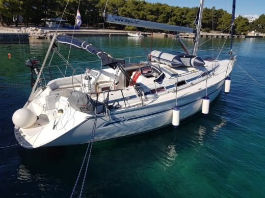 Charter sailboat in Biograd na Moru peer-to-peer