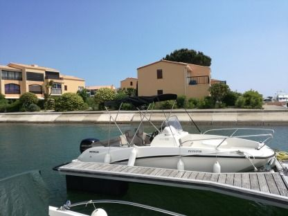 Rental Motorboat Quicksilver 555 Saint-Cyprien