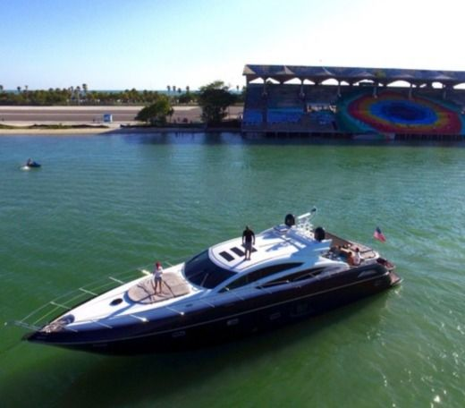 Sunseeker Predator 74 in Miami Beach