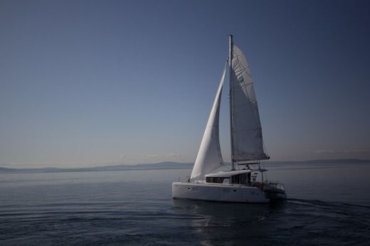 Charter catamaran in Split