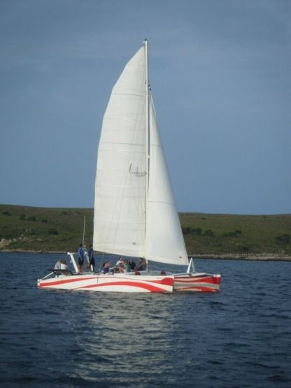Location Catamaran Dys Rush 10 Fornells