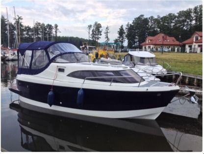 Rental Motorboat Am 780 Gizycko
