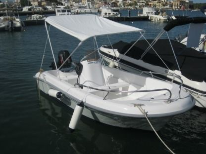 Miete Motorboot Astec 4M Sitges
