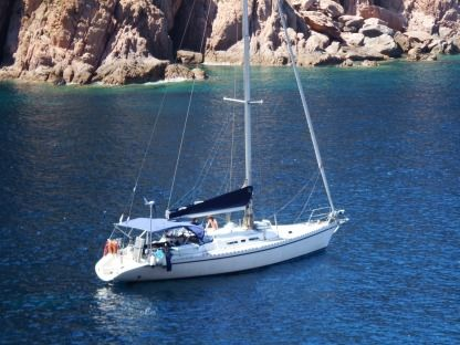 Charter Sailboat Atlantic 49 Bonifacio