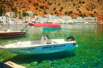 Charter Motorboat Mare 5.5m - 30hp Hora Sfakion