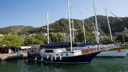 Rental Sailboat Ketch Ketch Gulet Fethiye