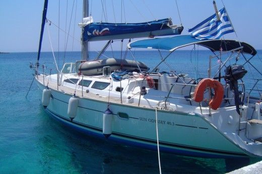 Sailboat Jeanneau Sun Odyssey 40.3 peer-to-peer