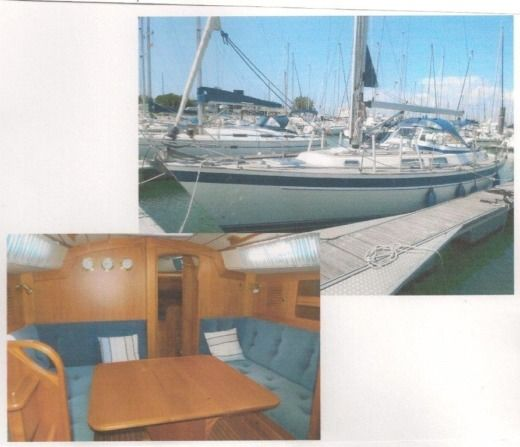 Sailboat Hallberg Rassy H R36 for hire