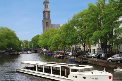 Hire Motorboat Custom City Tender Vondel Amsterdam