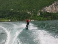 1960S Vintage Ski Boat Rv15 70Ch in Annecy for rental