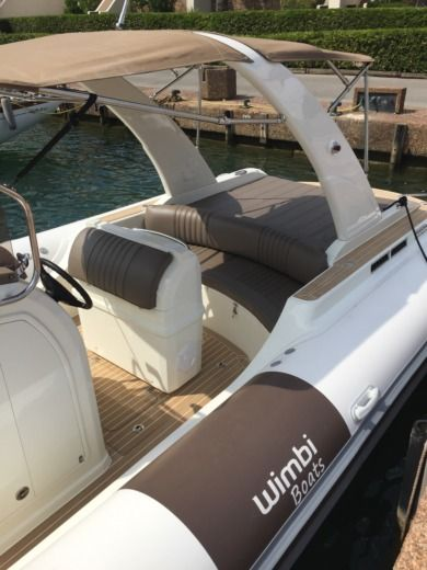 Charter rIB in Grimaud peer-to-peer