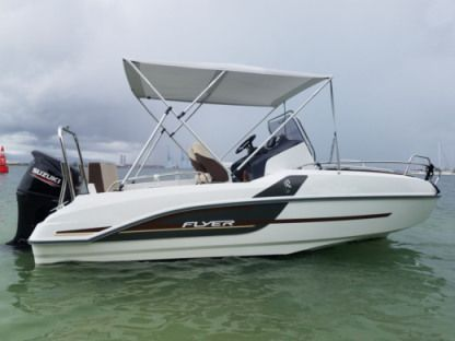 Rental Motorboat Beneteau Flyer 5.5 Sundeck Le Gosier