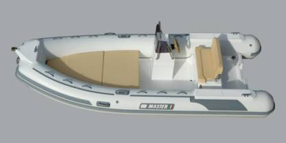 Location Semi-rigide Gommone Master 520 Sciacca