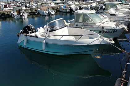 Rental Motorboat QUICKSILVER Commender Fos-sur-Mer