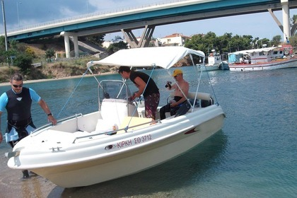 Hire Motorboat Karel 460 Chalkidiki