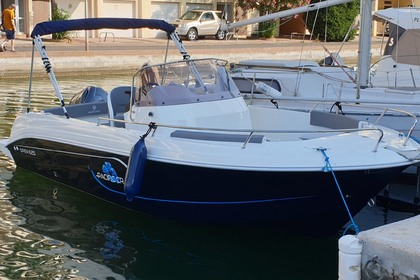Rental Motorboat Pacific Craft Open 625 Canet-en-Roussillon