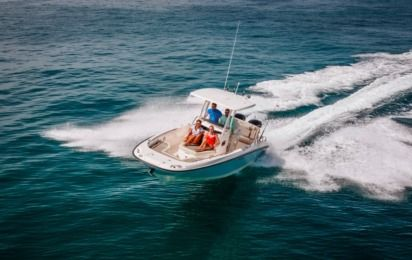 Charter Motorboat Boston Whaler Dauntless 270 Nassau
