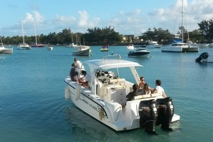 Charter Motorboat Speed Boat 29ft Grand Baie