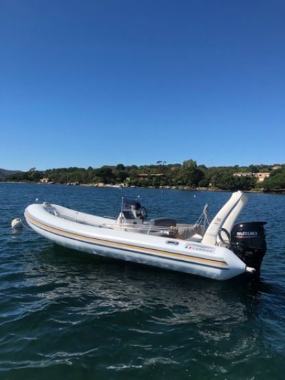 Rental RIB Zodiac Medline 2 Porto-Vecchio