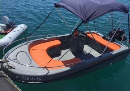 Rental Motorboat Astec 400 Blanes
