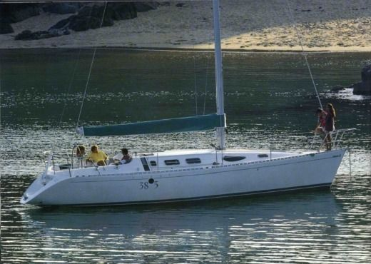 Location Voilier Beneteau First 38S5 Calais