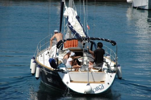 Charter sailboat in Zadar peer-to-peer
