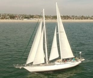 Charter Sailboat Custom Schooner Long Beach