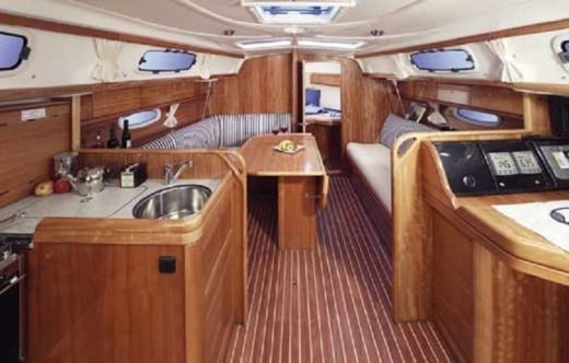 Sailboat Bavaria 33 Cruiser peer-to-peer