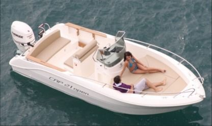 Charter Motorboat Capelli 21 Collioure