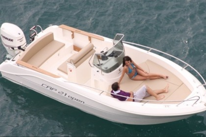 Rental Motorboat CAPELLI 21 Collioure