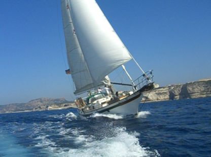Charter Sailboat Blue Water Vagabond 47 Carnon