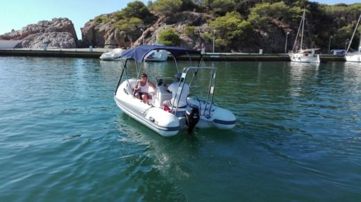 RIB Protender 470 for hire