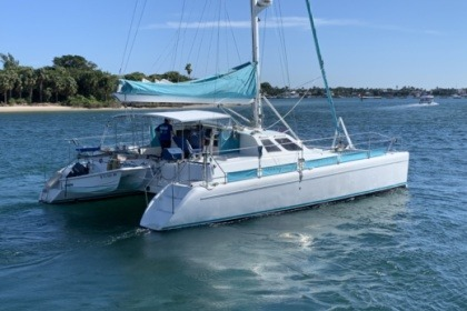 Location Catamaran Norseman 400 Kemah