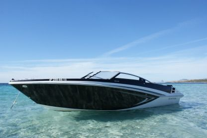 Charter Motorboat Glastron Gt 225 Ibiza