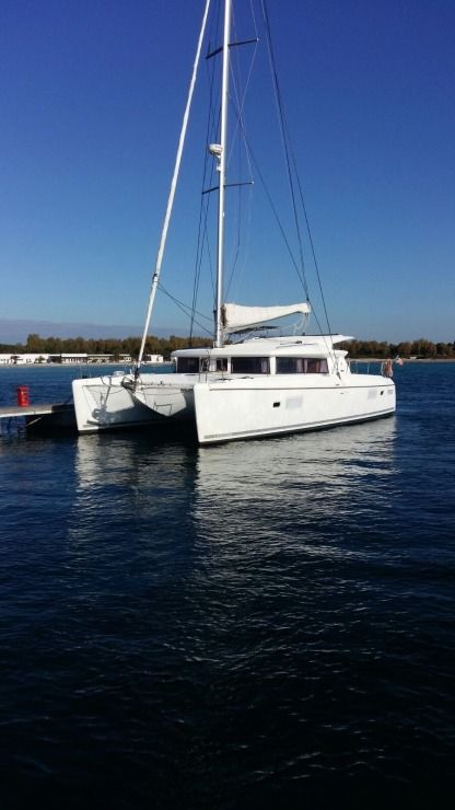 Location Catamaran Lagoon 421 Alghero