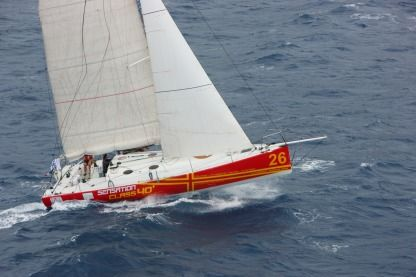 Charter Sailboat Jumbo 40 Arrondissement of Le Marin