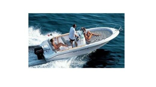Sessa Marine Key Largo in Ibiza for hire