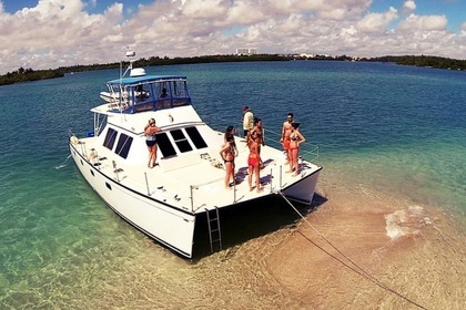 Location Catamaran Combo Cat Inc 45FT Catamaran Miami