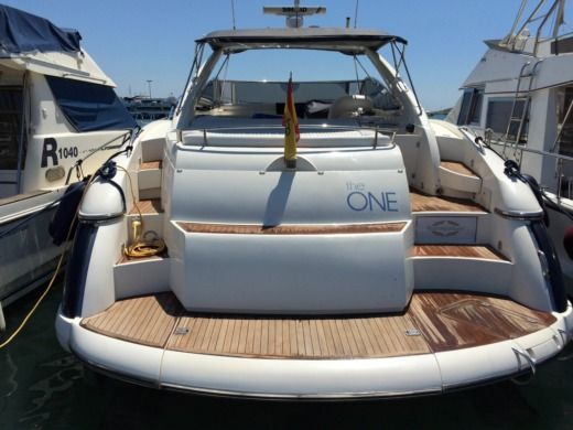 SUNSEEKER 50 Camargue in Ibiza for hire