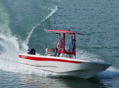 Rental Motorboat Carolina Skiff Islamorada