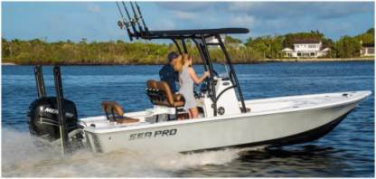 Rental Motorboat Pro Boat Sea 22 Galveston