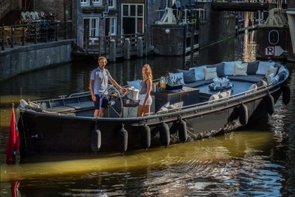 Hire Motorboat Custom Luxesloep Oceans Amsterdam